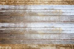 Old brown wooden texture or wooden background. For any design Royalty Free Stock Image