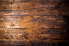Old brown wooden wall Stock Images
