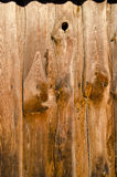 Old and brown wooden wall background Royalty Free Stock Images