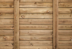 Old brown wooden wall, background texture Royalty Free Stock Images