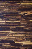 Old brown wood vinyl wall cover Royalty Free Stock Photos