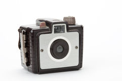 Old brownie camera Stock Image