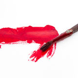 Old Brush Painting Royalty Free Stock Photography