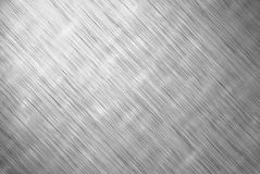 Old brushed metal texture Stock Image