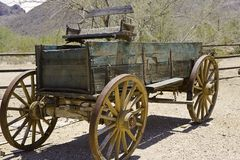 Old Buckboard Stock Photography