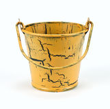 Old bucket isolated royalty free stock photo