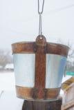 Old bucket Stock Photography