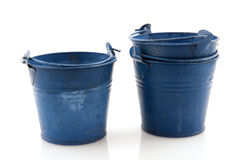 Old buckets Royalty Free Stock Photo