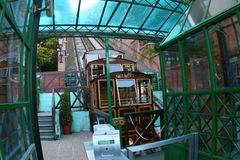 Old Budapest funicular Stock Photos