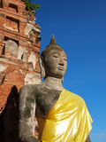 old budda statue Royalty Free Stock Photos