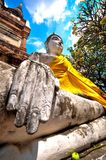 Old Buddha Royalty Free Stock Photography