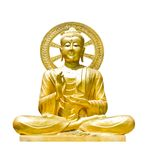 The old buddha Royalty Free Stock Image