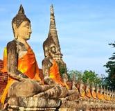Old buddha Stock Image