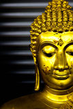 Old Buddha concentrate Stock Photography
