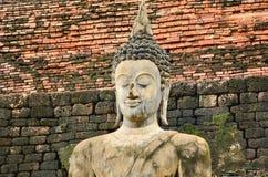 Old buddha image Royalty Free Stock Photo