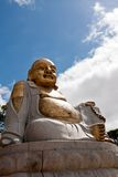 Old buddha statue Stock Photo