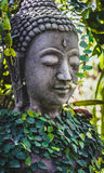 Old buddha statue in thailand asia Royalty Free Stock Images