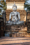 Old buddha statue Royalty Free Stock Images