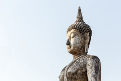 Old buddha statue Royalty Free Stock Photo