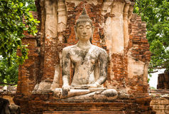 Old Buddha Statue Stock Photos