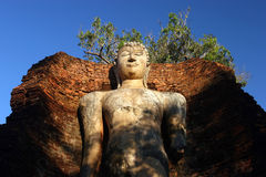 Old Buddha statues Stock Image
