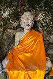 Old Buddha Statues, Wat Pha lat, Chiangmai Thailand Royalty Free Stock Photos