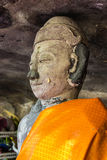 Old Buddha Statues, Wat Pha lat, Chiangmai Thailand Stock Photo