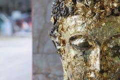 Old buddha status. Stock Images