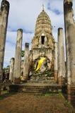 Old Buddha Sukhothai Royalty Free Stock Photo
