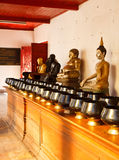 Old buddha royalty free stock image