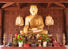 Old Buddhas statue Stock Images