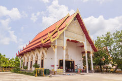 Old Buddhist Church of Prathong temple or Pra-pood temple at Phuket, Thailand stock photos