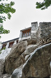Old buddhist monastery from Leh, India Royalty Free Stock Image