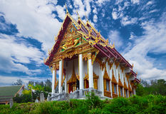 An old Buddhist temple Stock Image