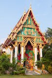 Old Buddhist Temple. Wat Khlong Phrao on Chang island, Thailand Royalty Free Stock Images