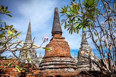 Old Buddhist temple in Thailand Stock Photos