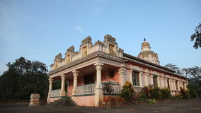Old Buddhist temples in Goa, India stock video