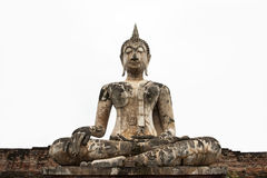 Old Budha isolated Stock Photography