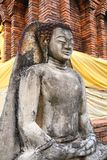 Antique Buddha Statue Stock Photo