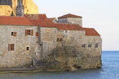 Old Budva Royalty Free Stock Photography