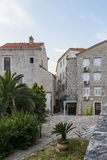 Old Budva. Houses, streets and alleys. Montenegro Royalty Free Stock Images