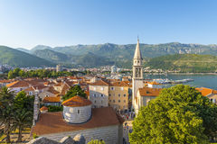 Old Budva. Houses, streets and alleys. Montenegro Royalty Free Stock Image