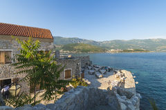 Old Budva. Houses, streets and alleys. Montenegro Royalty Free Stock Photo