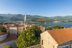 Old Budva. Houses, streets and alleys. Montenegro Royalty Free Stock Photography