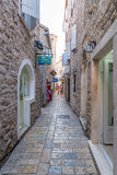 Old Budva. Houses, Streets And Alleys. Montenegro Stock Photos
