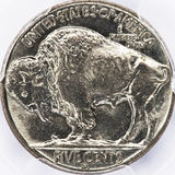 Old Buffalo Nickle. Stock Images