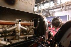Old Bugatti engine Royalty Free Stock Photo