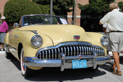 Old Buick Car at the car show Royalty Free Stock Image
