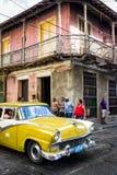 Old Buick in Santiago de Cuba Royalty Free Stock Photos