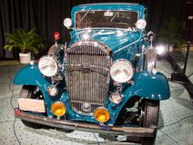 Old Buick seeb ub the Classic Car Pavillion at CIA Royalty Free Stock Image